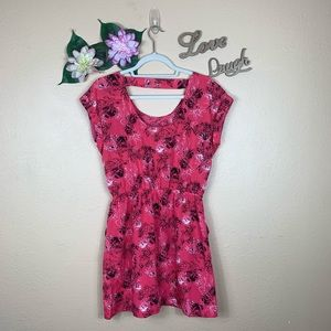 Candie's Dresses - Candie's Floral Print Mini Dress With Pockets